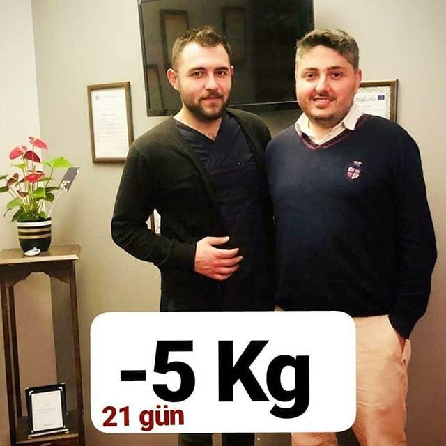 21 GÜN -5 KİLO