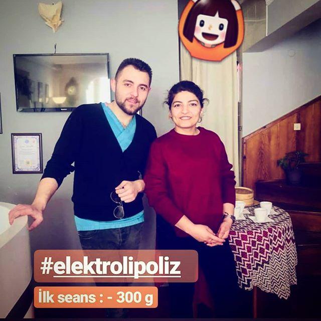 ELEKTROLİPOLİZ İLK SEANS -300 GR